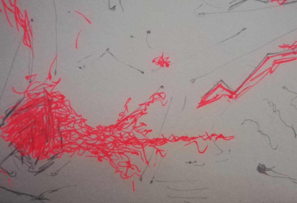 ICK Blog - Elisa Zuppini drawing