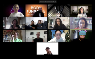 Body (un)mute: notes on a collective glitch